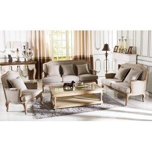 One Allium Way Bem 3 Piece Living Room Set