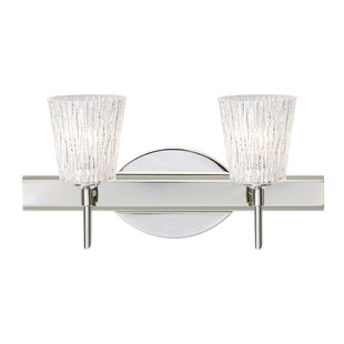 Nico 2-Light Vanity Light by Besa Lighting