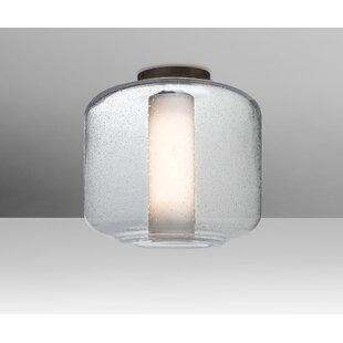 Brayden Studio Spero Ceiling 1-Light Semi Flush Mount