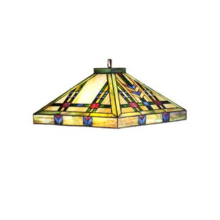 Meyda Tiffany Mission Arts and Crafts Southwest Prairie 4-Light Pool Table Light