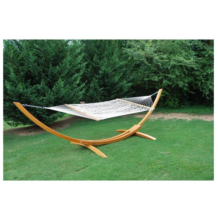 Cypress Wood Hammock Stand