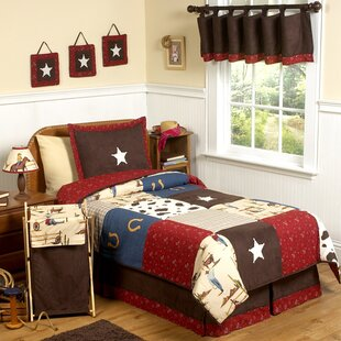 Wild West Cowboy 4 Piece Twin Comforter Set
