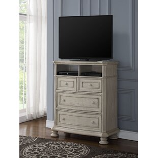 One Allium Way Piland 4 Drawer Media Chest