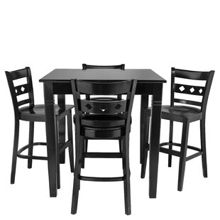 Wein 5 Piece Pub Table Set