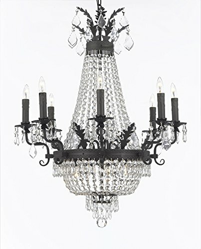 Ginnie Crystal 12-Light Candle-Style Chandelier