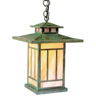 Kennebec 1-Light Outdoor Hanging Lantern