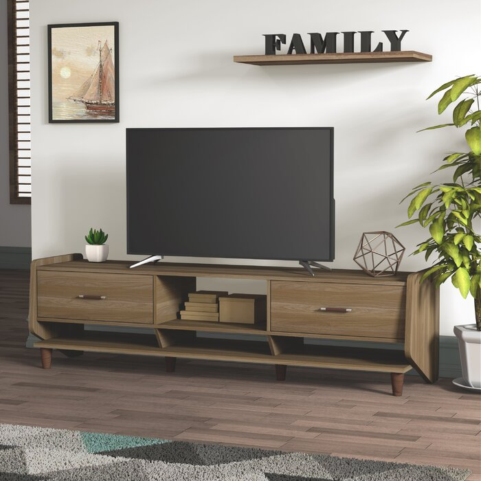 Astounding Gillies Solid Wood Tv Stand For Tvs Up To 78 Inches Lamtechconsult Wood Chair Design Ideas Lamtechconsultcom