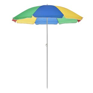 Malley 1.8m Beach Parasol By Sol 72 Outdoor