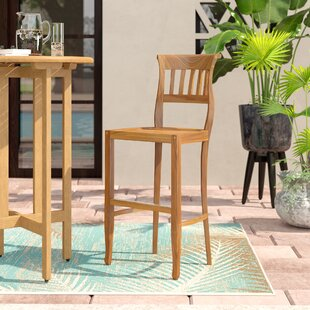 Tabouret De Bar De Patio En Teck De 29,5 Po Freeport
