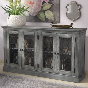Colombier 4 Door Accent Cabinet