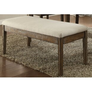 Hendry Upholstered Bench by Andrew Home Studio