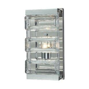 House of Hampton Kleist Glass 1-Light Bath Bar