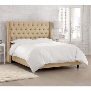 Tessa Upholstered Panel Bed