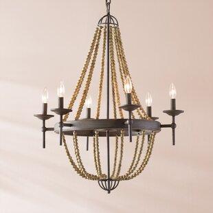 Pennington 6-Light Empire Chandelier by Lark Manor
