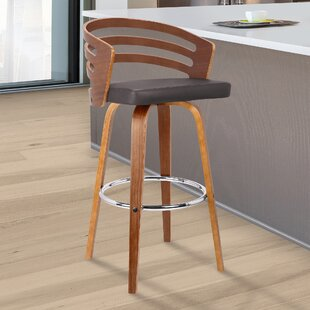 Wilkes Swivel Bar Stool By Langely Street