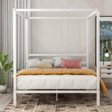 Ahonesti Queen Canopy Bed by Latitude Run®