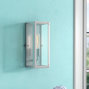Murley 1-Light Flush Mount by Beachcrest Home
