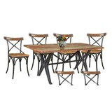 Pascoe 7 Piece Dining Set by Gracie Oaks