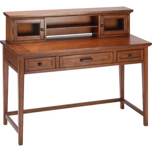 Darby Home Co Froehlich Sofa Table Writing Desk with Hutch
