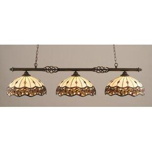 Pierro 3-Light Billiard Light By Astoria Grand
