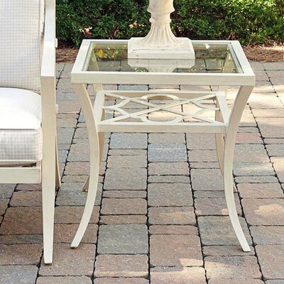 Misty Garden Glass Side Table by Tommy Bahama Outdoor Discount