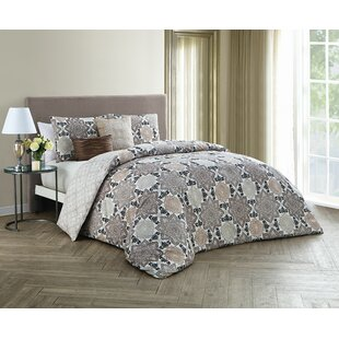 Claudine 5 Piece Reversible Comforter Set