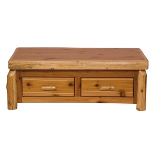Traditional Cedar Log Lift Top Coffee Table by Fireside Lodge Discount