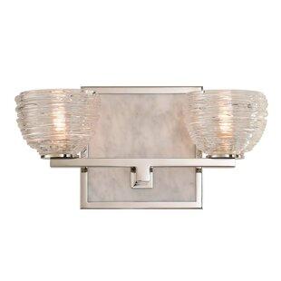 Kalco Bianco 2-Light LED Vanity Light