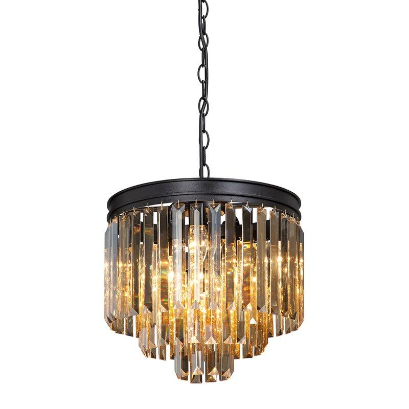 Canora Grey Philo 9 Light Crystal Chandelier Wayfair Co Uk