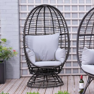 Sharee Outdoor Egg Garden Chair With Cushions