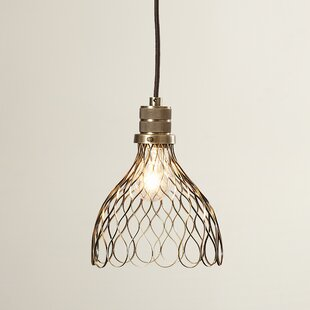 Brayden Studio Eddy 1-Light Geometric Pendant