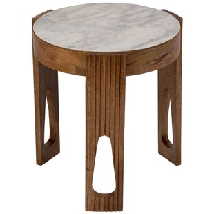 Briela End Table by World Menagerie