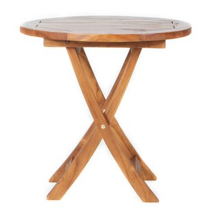 Humphrey Folding Teak Bistro Table