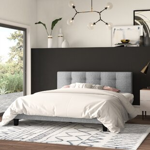 Ellender Upholstered Platform Bed by Mercury Row