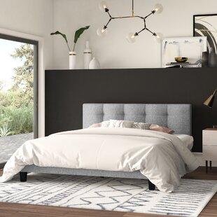 Find Ellender Upholstered Platform Bed by Mercury Row Reviews (2019) & Buyer's Guide