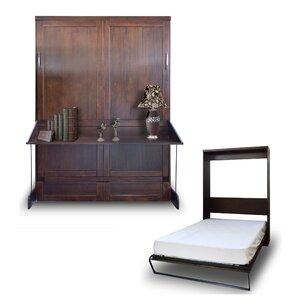 Delapaz Queen Murphy Bed by Brayden Studio