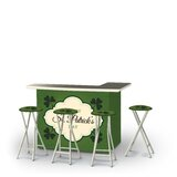 Ahmeek St Patricks Day Old Irish Beer 5-Piece Bar Set