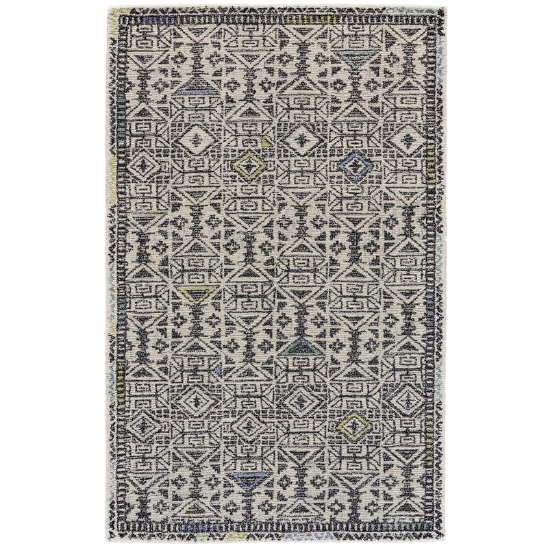 mid-century modern area rug