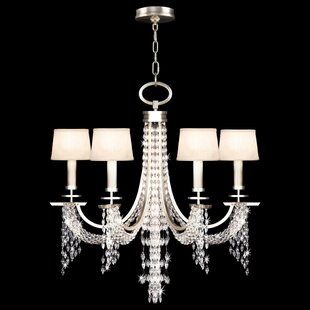 Fine Art Lamps Cascades 6-Light Shaded Chandelier