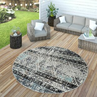Maghull Flatweave Blue Rug By World Menagerie