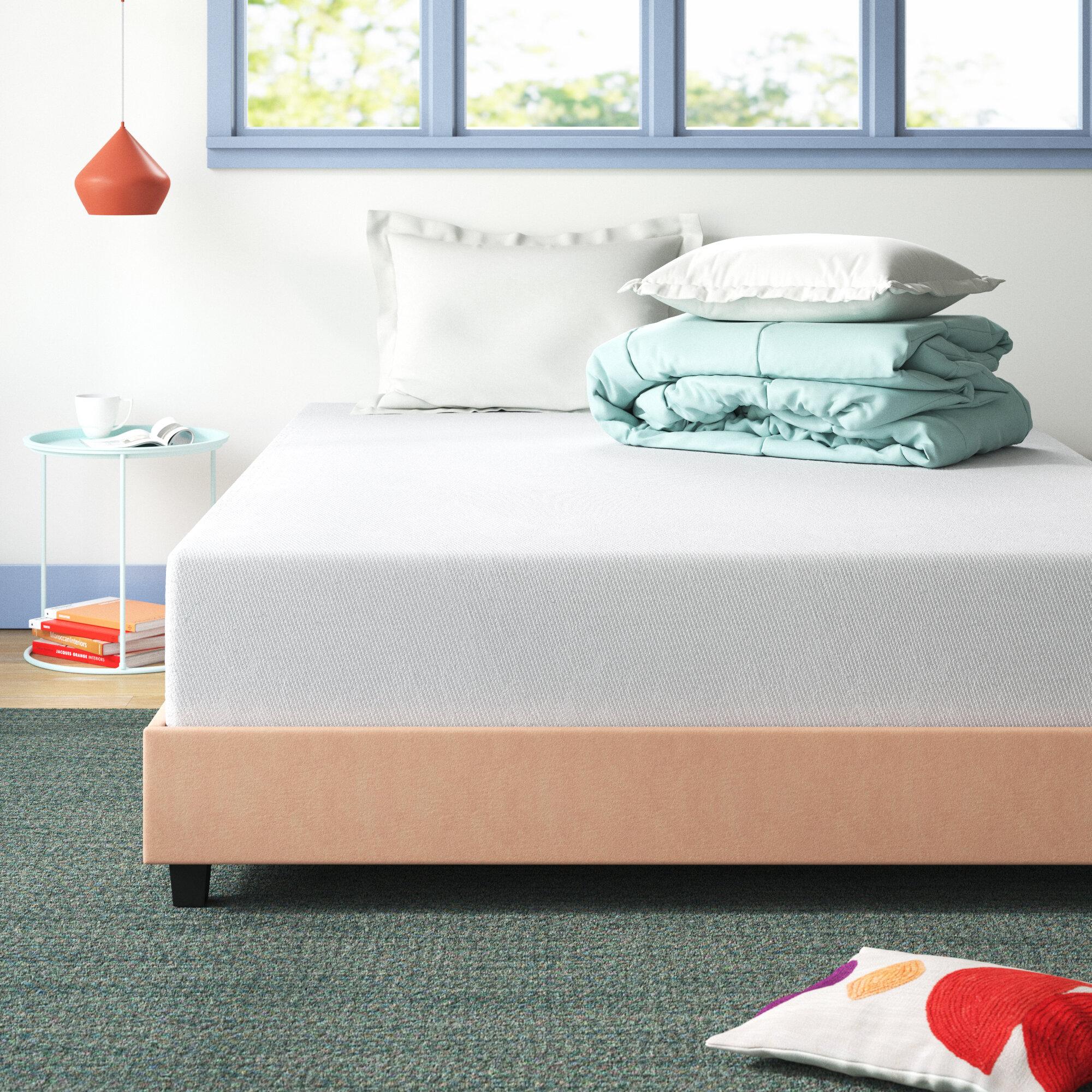Wayfair Sleep 12 Firm Memory Foam Mattress Reviews Wayfair