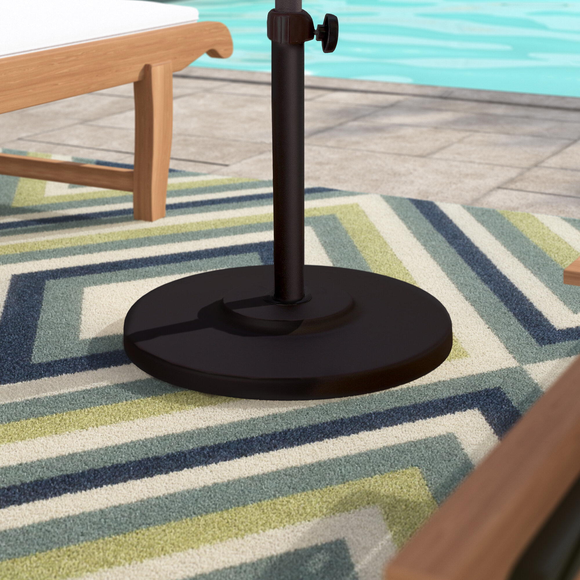 Sol 72 Outdoor Moro Metal Free Standing Umbrella Base Reviews Wayfair