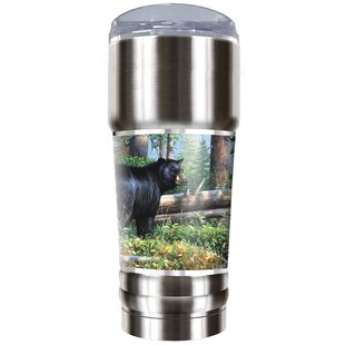Black Bear Traditions 32 oz. Stainless Steel Travel Tumbler