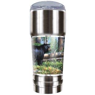 Black Bear Traditions 32 oz. Stainless Steel Travel Tumbler
