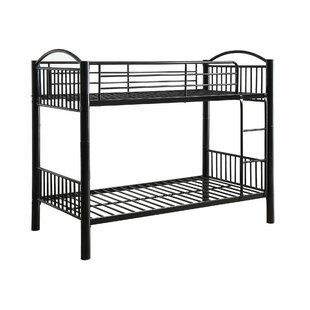 Affordable Price Hatherleigh Twin Over Twin Bunk Bed by Harriet Bee Reviews (2019) & Buyer's Guide