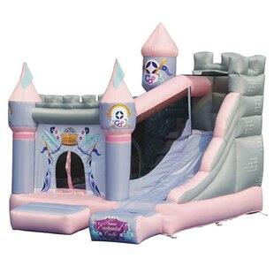 Princess Enchanted Castle Bounce House By Kidwise