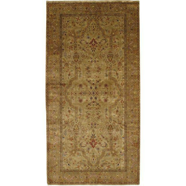 Pasargad Ny Persian Hand Knotted Wool Beige Gold Area Rug Wayfair