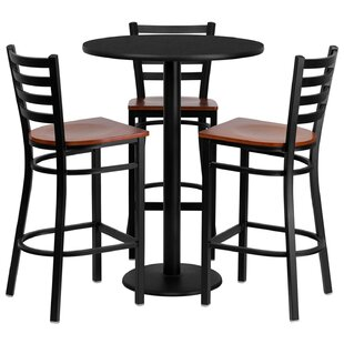 Lomonaco 4 Piece Pub Table Set Winston Porter