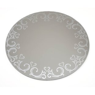 House of Hampton Willmar Patterned Round Accent Mirror (Set of 6)