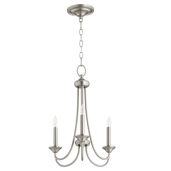 Canora Grey Rivero 3 Light Candle Style Classic Traditional Chandelier Wayfair